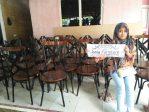 Kursi Cafe Vintage Besi Kayu Jati