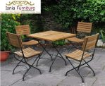 Set Meja Kursi Cafe Minimalis Outdoor
