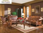 Set Meja Kursi Sofa Tamu Antik Mewah