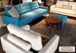 Jual Kursi Tamu Sofa Modern Blue