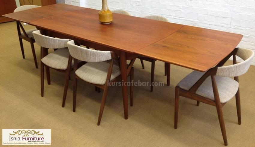 meja-makan-panjang-6-kursi-cantik Meja Makan Panjang 6 Kursi Cantik