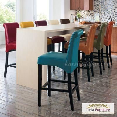 kursi-bar-stool-modern-jok-warna Kursi Bar Stool Modern Jok Warna