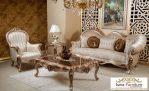 Kursi Tamu Mewah Sofa Glossy Roma