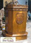 Mimbar Podium Minimalis Pidato Pemerintah