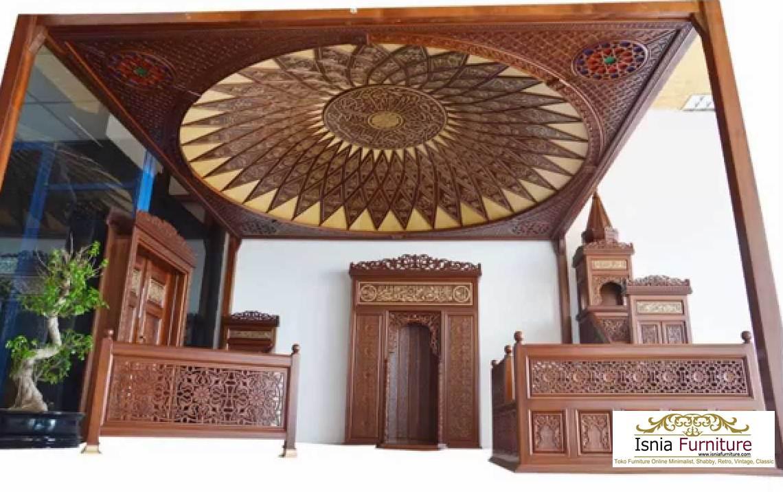 Mihrab-Masjid-Minimalis-Kayu-Jati 32+ Model Mihrab Masjid Minimalis Sederhana Kayu Jati > Jual Mihrab Kaligrafi Ukiran Mewah