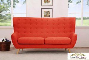 Kursi Sofa Santai Retro 2 Dudukan