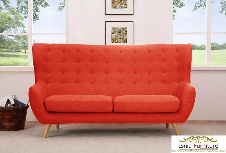 Kursi-Sofa-Santai-Retro-2-Dudukan Kursi Sofa Santai Retro 2 Dudukan