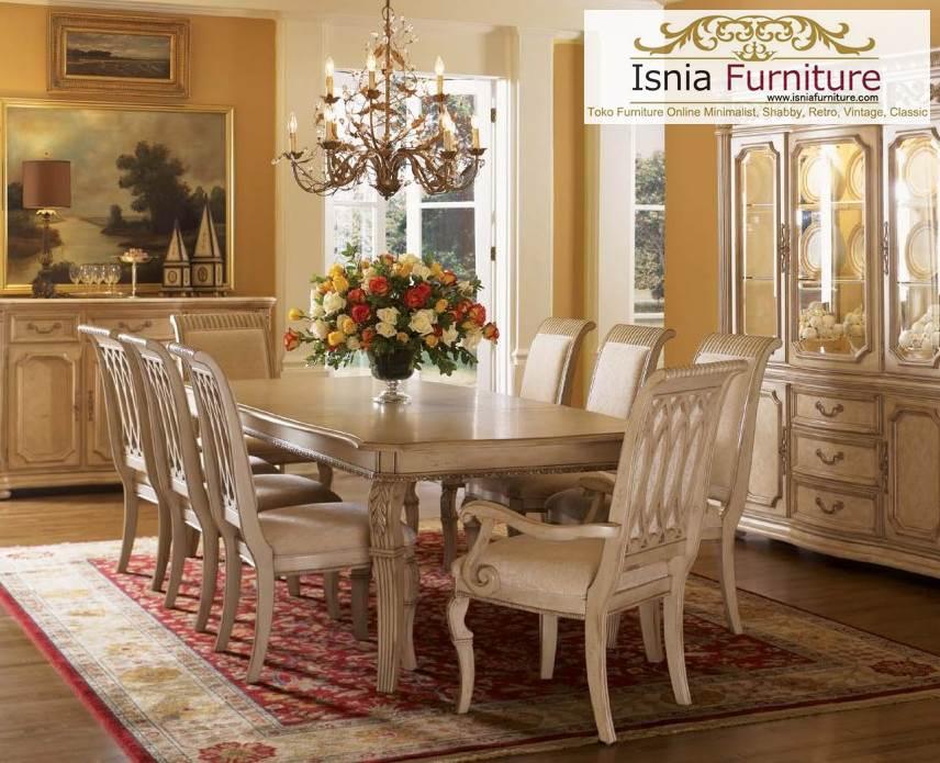 kursi-makan-jati Set Meja Kursi Makan Klasik Jati Terbaru