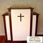 19+ Model Mimbar Gereja Katolik & Kristen Minimalis >> Podium Gereja Murah