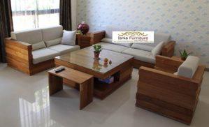 Kursi Tamu Jati Bandung Set Sofa