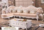 Kursi Tamu Sudut Bandung Sofa Putih Duco