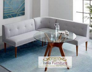 Kursi Tamu Sofa Minimalis Modern Kaki Tinggi