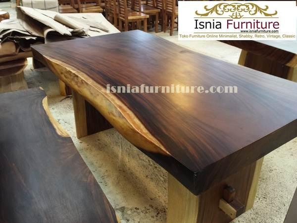 meja Jual Meja Trembesi Semarang Untuk Makan Kayu Solid Utuh Besar