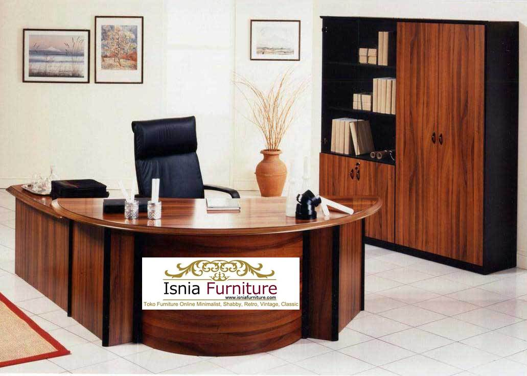 Luxurious-Italian-modern-executive-office-design-ideas Meja Kerja Direktur Modern Style Terbaru