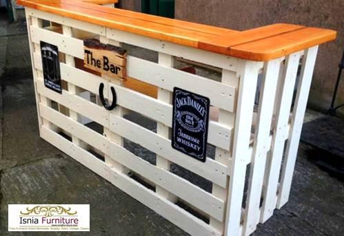 meja-bar-pallet Meja Bar Desain Terbaru Model Pallet