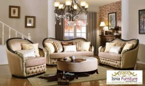 Set Kursi Sofa Tamu Model Minimalis Elegan