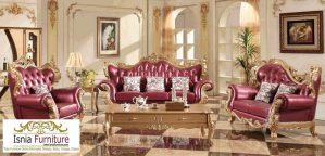 Kursi Tamu Sofa Ukir Mewah Elegan Kualitas Terbaik