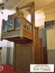 Jual Mimbar Masjid Besar Kota Denpasar Ukir Jati Terlaris