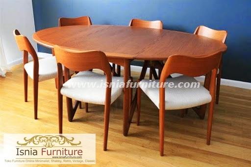 set-kursi-meja-makan-jati-minimalis-terlaris Jual Set Kursi Meja Makan Jati Minimalis Modern Terlaris