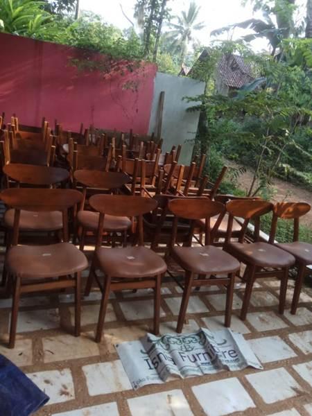 kursi-cafe-jati-minimalis Jual Kursi Cafe Surabaya Model Minimalis Dengan Jok