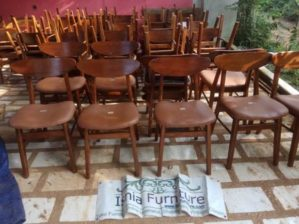 Jual Kursi Cafe Surabaya Model Minimalis Dengan Jok