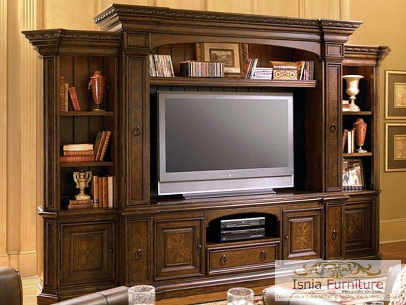 lemari-rak-tv-modern-minimalis-mewah Lemari Rak Tv Jati Mewah Minimalis Modern Termurah
