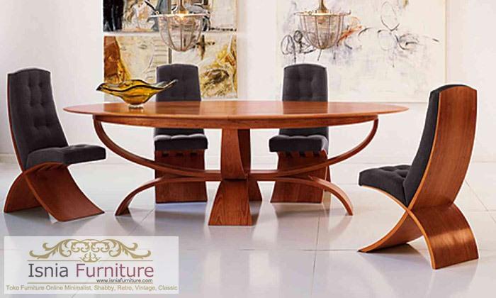 model-kursi-makan-jati-minimalis-modern Model Kursi Makan Jati Minimalis Modern Kota Jember