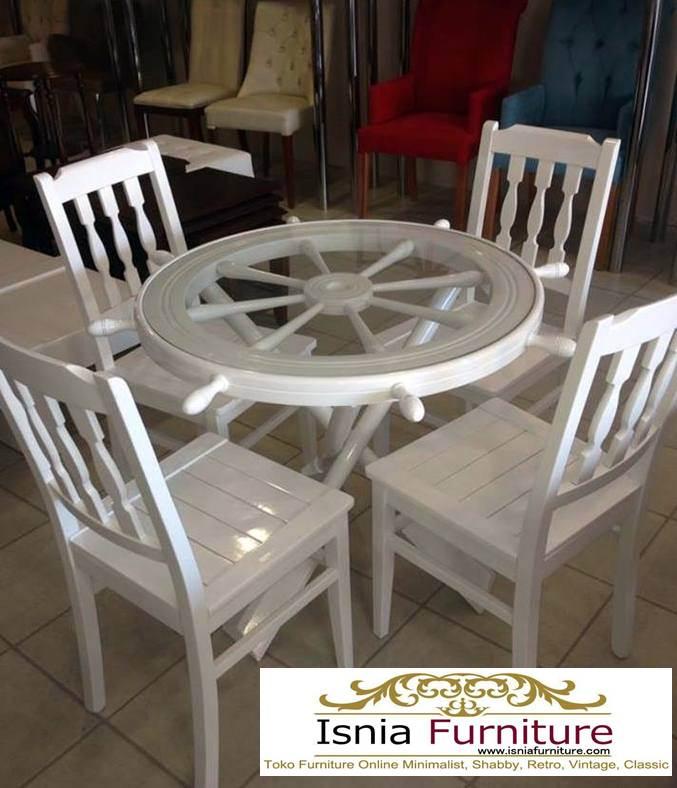 set-meja-cafe-di-malang Jual Meja Kursi Cafe Malang Bahan Kayu Jati Solid