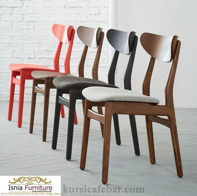 Kursi-Cafe-Kayu-Populer-Minimalis-Modern-2020 150+ Model Meja Kursi Cafe Kayu Unik Minimalis Modern Terlaris