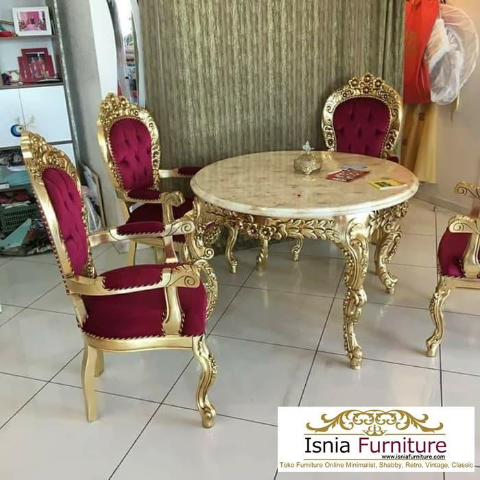 meja-makan-marmer-8-kursi Meja Makan Marmer 6 Dan 8 Kursi Desain Mewah Terbaru