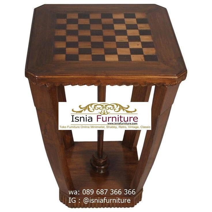 meja-catur-kayu-jati Jual Meja Papan Catur Kayu Jati Harga Murah