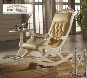 Kursi Teras Goyang Putih Duco