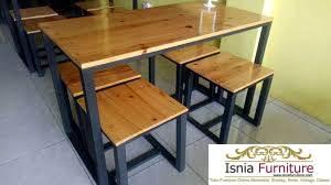 Set-Meja-Cafe-Minimalis-Panjang Meja Cafe Set Minimalis Panjang Bogor