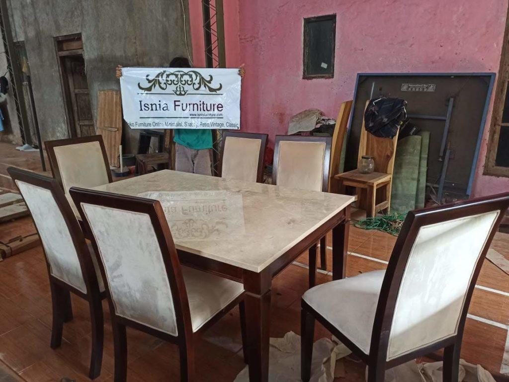 Set-Meja-Makan-Bogor-1-1024x769 Set Meja Kursi Makan Kota Bogor 6 Kursi