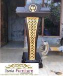 Mimbar Podium Presiden Garuda Kayu Jati