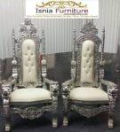 Kursi Raja dan Ratu Minimalis Jepara Mewah