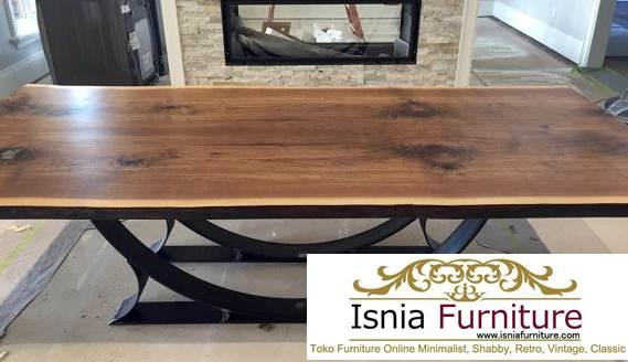 set-meja-trembesi-utuh Harga Meja kayu Suar Utuh Tebal
