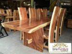 Harga Meja kayu Suar Utuh Tebal