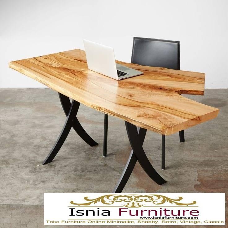 meja-kerja-kantor-trembesi-kualitas-terbaik-murah Jual Meja Kerja Kantor Trembesi Unik Kayu Solid
