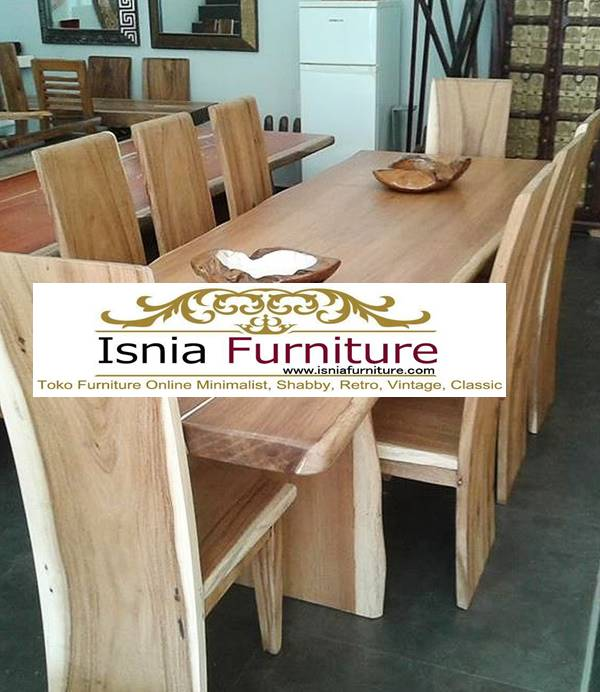 meja-makan-trembesi-model-terbaru-desain-8-kursi-minimalis-solid Meja Makan Trembesi 8 Kursi Kayu Solid Terpopuler