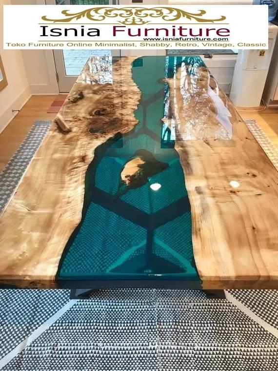 meja-resin-kayu-unik-terpopuler Jual Meja Resin Kayu Harga Terjangkau Kualitas Terbaik