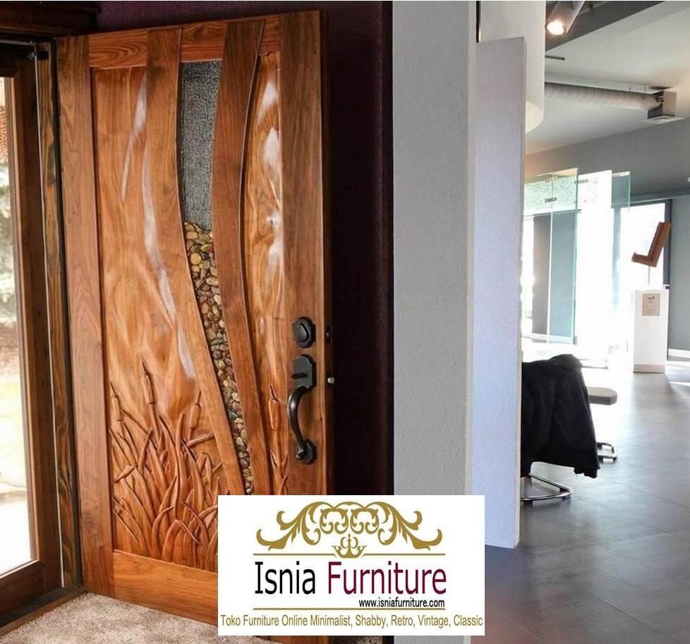pintu-kayu-trembesi-harga-murah-model-kekinian Jual Pintu Kayu Trembesi Solid Minimalis Murah Terlaris