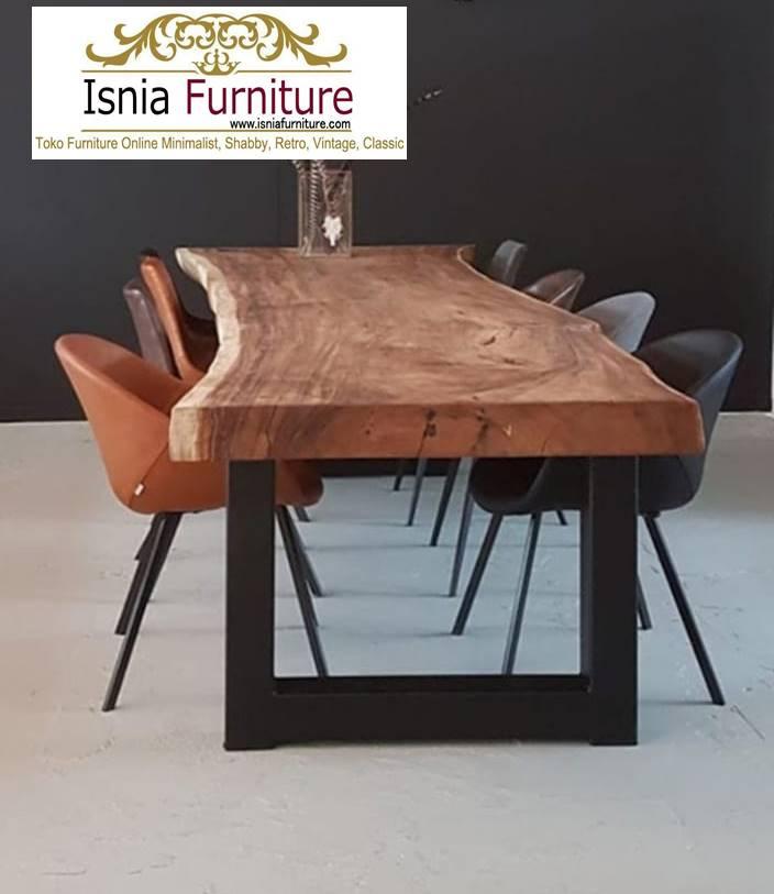 meja-trembesi-bekas-kayu-solid-termurah-desain-kaki-besi Meja Trembesi Bekas Antik Kayu Solid Termurah