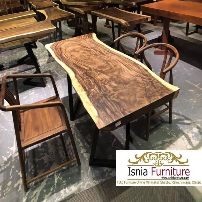 meja-makan-trembesi-medan-kayu-solid-minimalis Jual Meja Makan Trembesi Medan Solid Minimalis