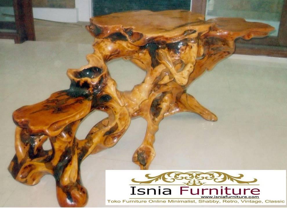 meja-akar-kayu-trembesi-solid-unik-antik Meja Akar Kayu Trembesi Harga Murah Terlaris