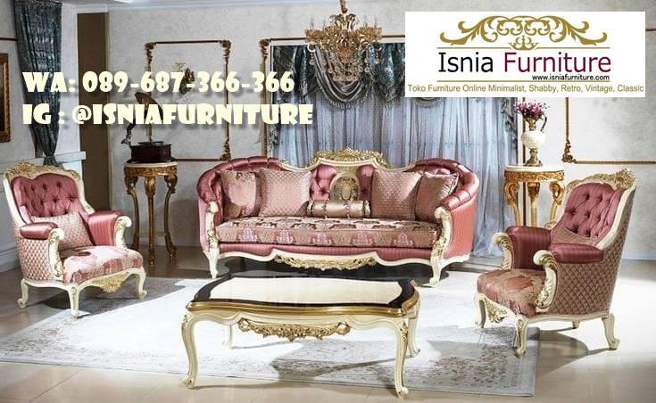 sofa-mewah-gold-cat-duco-harga-murah Sofa Mewah Warna Gold Cat Duco Kekinian Terlaris